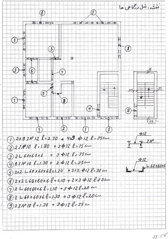 کارهای فلزّی:آموزش متره. گام ۳۵